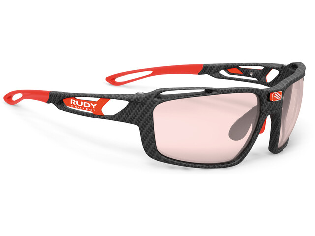 Rudy Project Sintryx Okulary rowerowe, carbonium - impactx photochromic 2 red